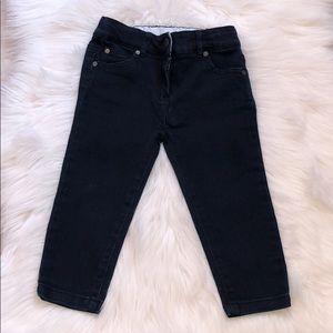 Dark Blue Baby Boys Indigo Jeans